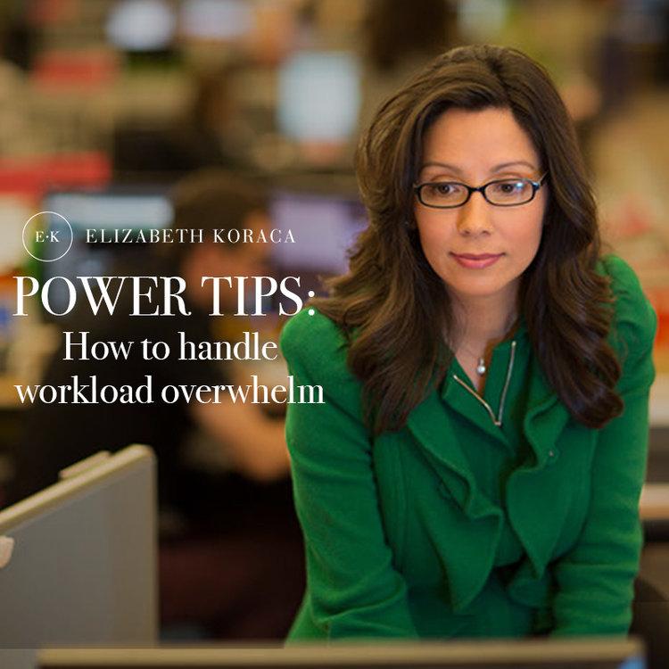 How to Handle Work Overwelm